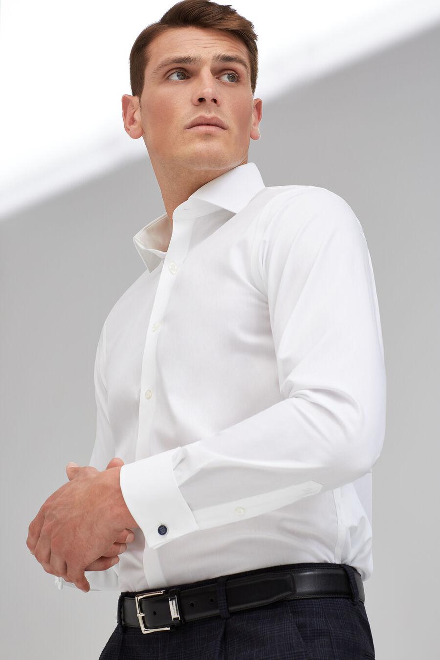 Non-iron poplin shirt