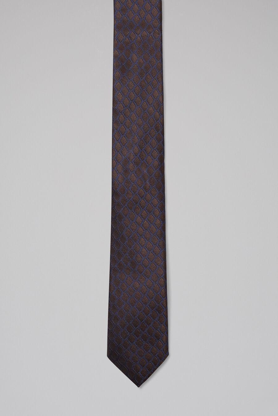 Silk design tie