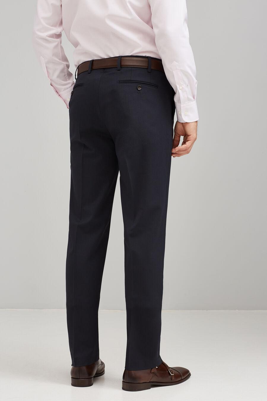 Formal wool trousers
