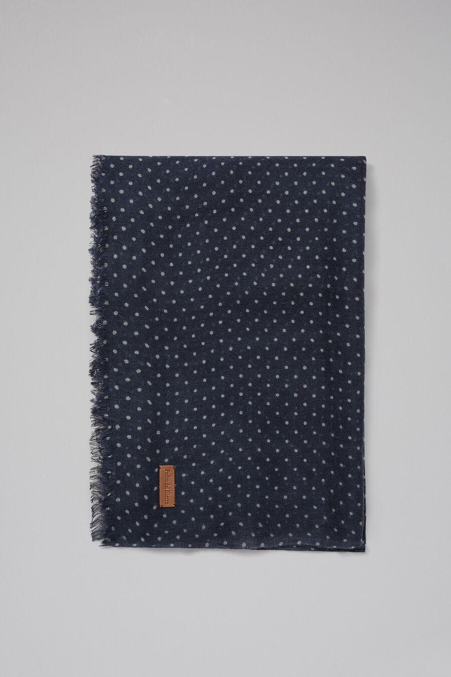 Polka-dot print foulard