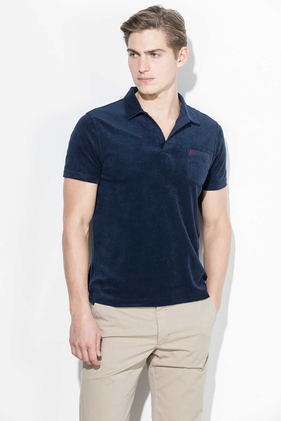 PdH terry polo shirt