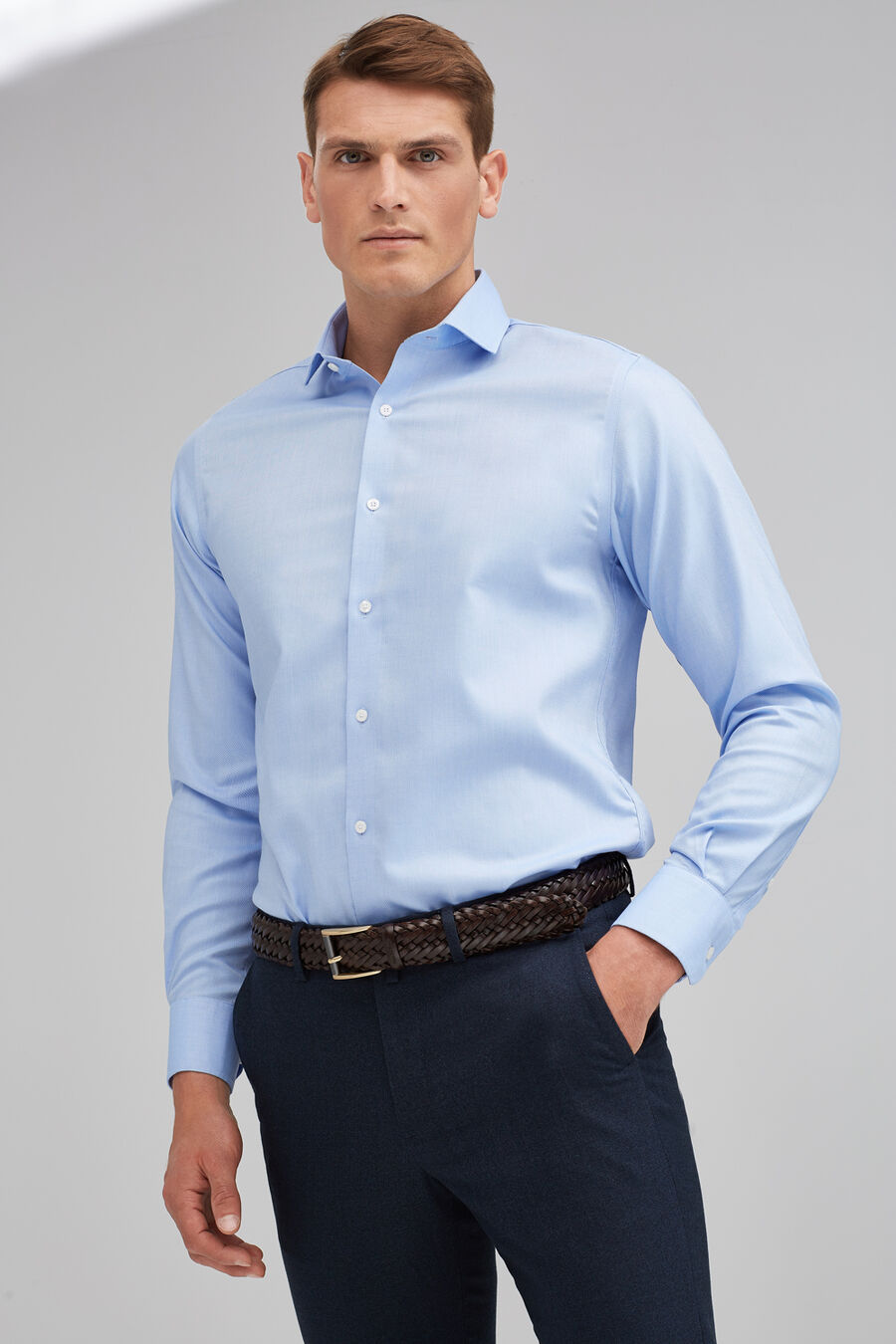 Non-iron Royal Oxford shirt