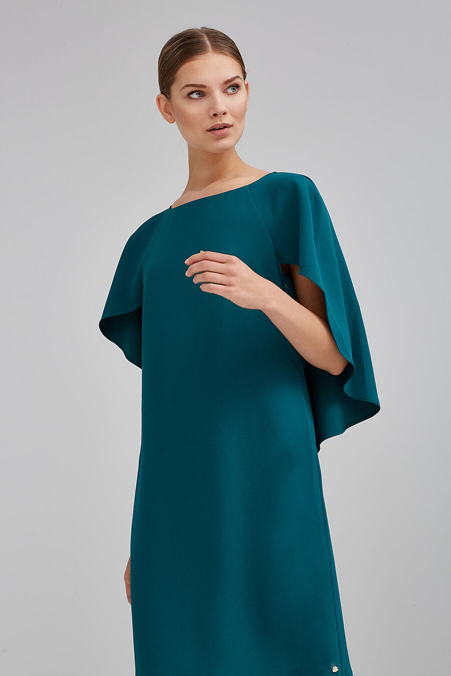 Plain dress cape