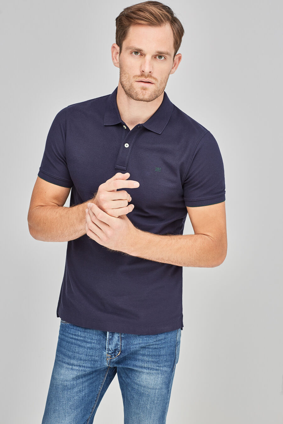 Tailored basic polo