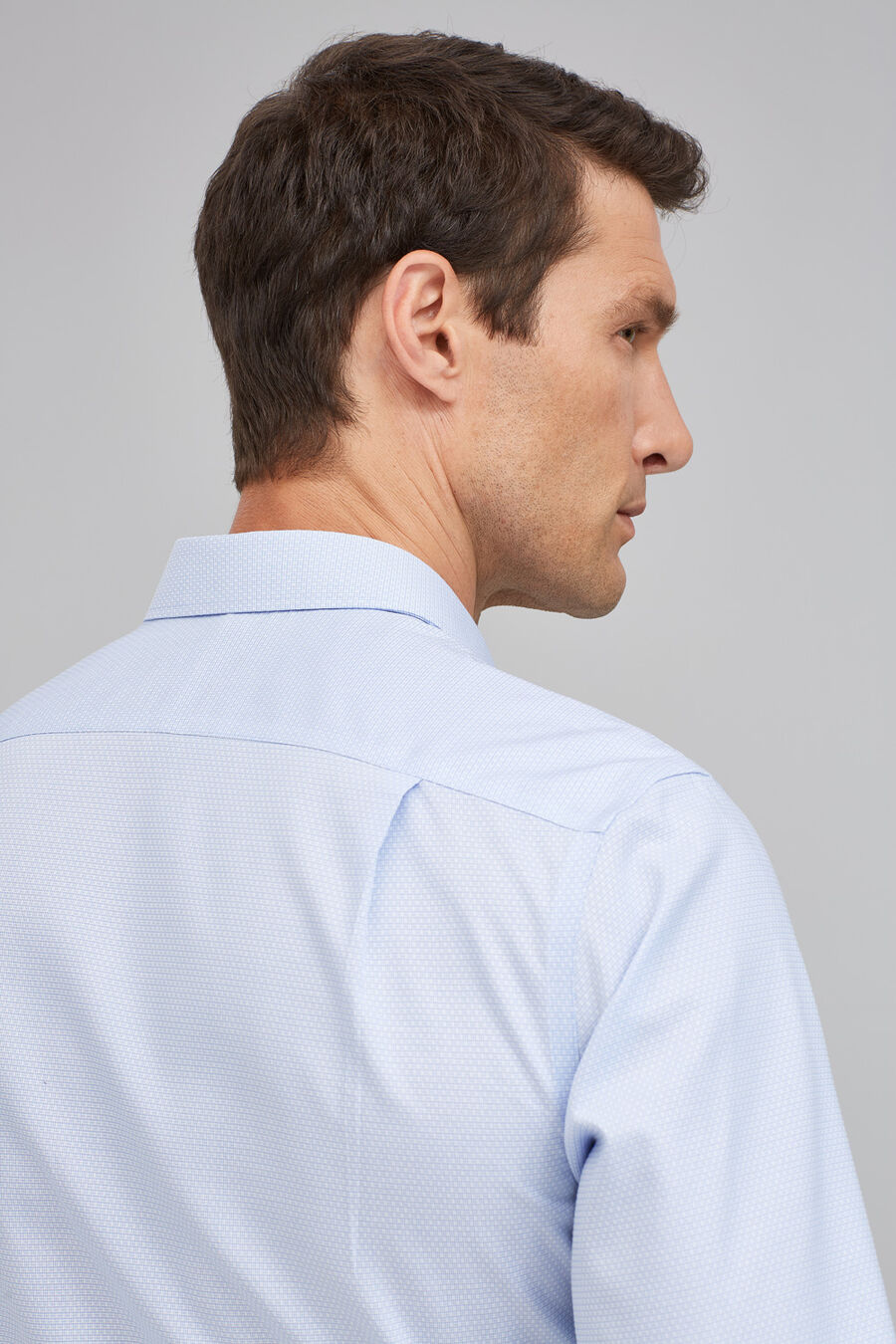 Dobby tailored fit shirt