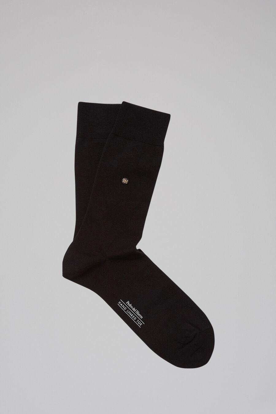 Plain formal socks