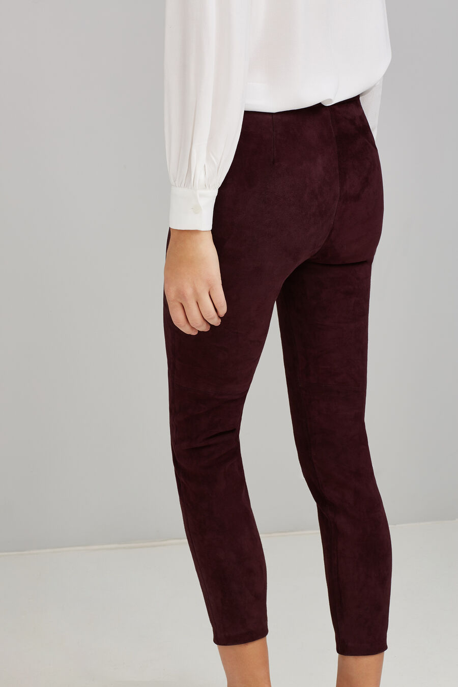 Velvet legging trousers