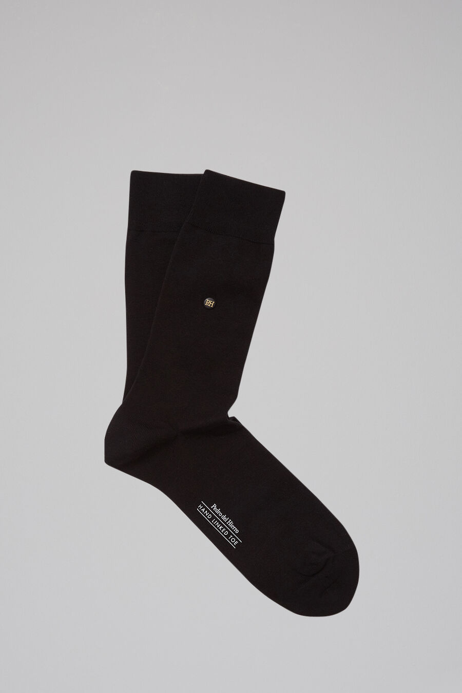 Plain formal socks
