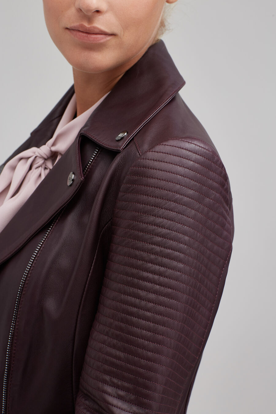 Perfect napa leather jacket