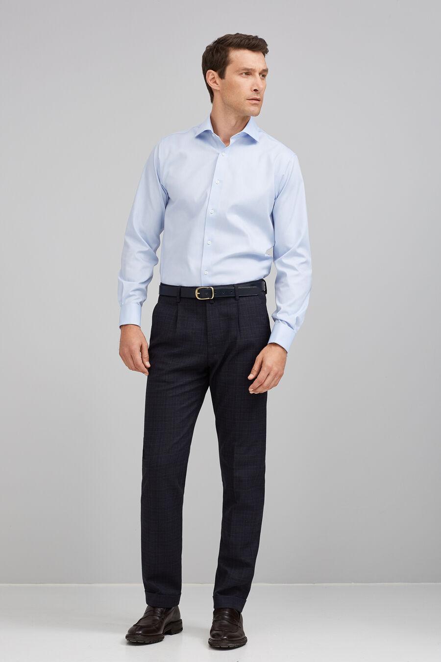 Non-iron pintpoint shirt