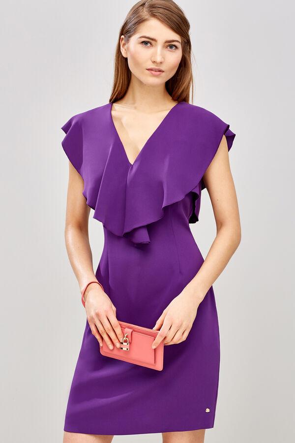 Lujo Vestido De Cóctel Atractivo Rosado Motivo - Ideas para el ...