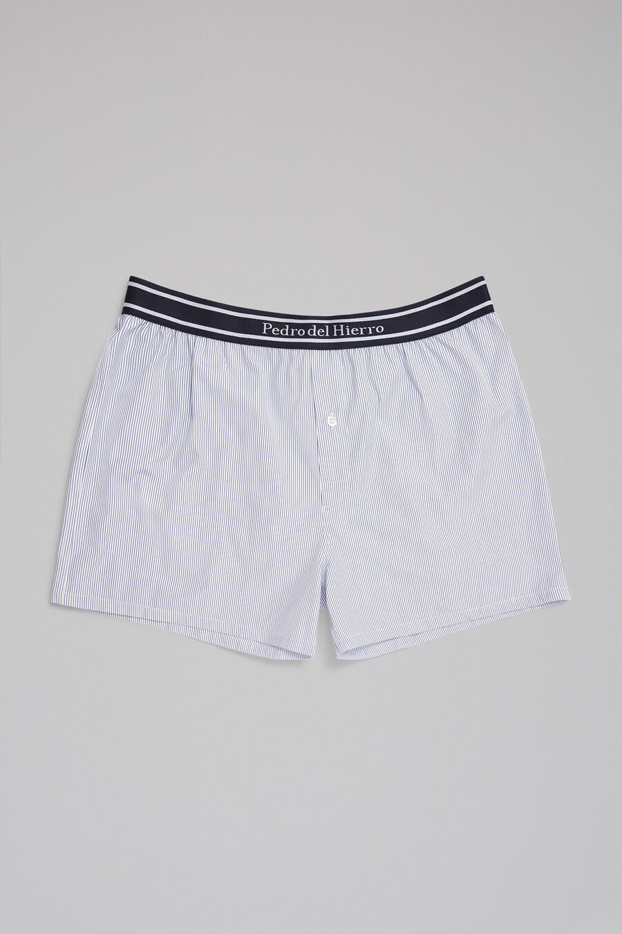 Striped fabric boxers