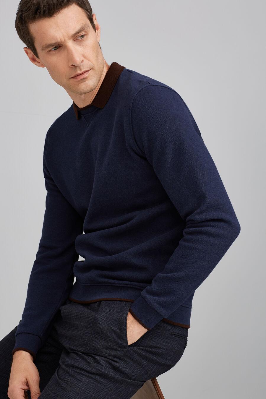 Pique sweatshirt