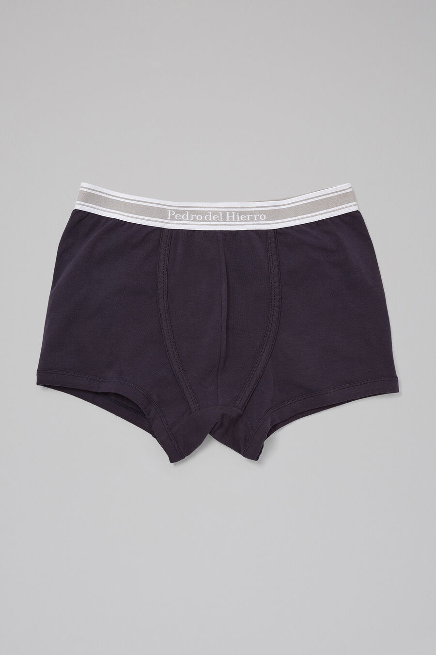 Plain cotton boxers