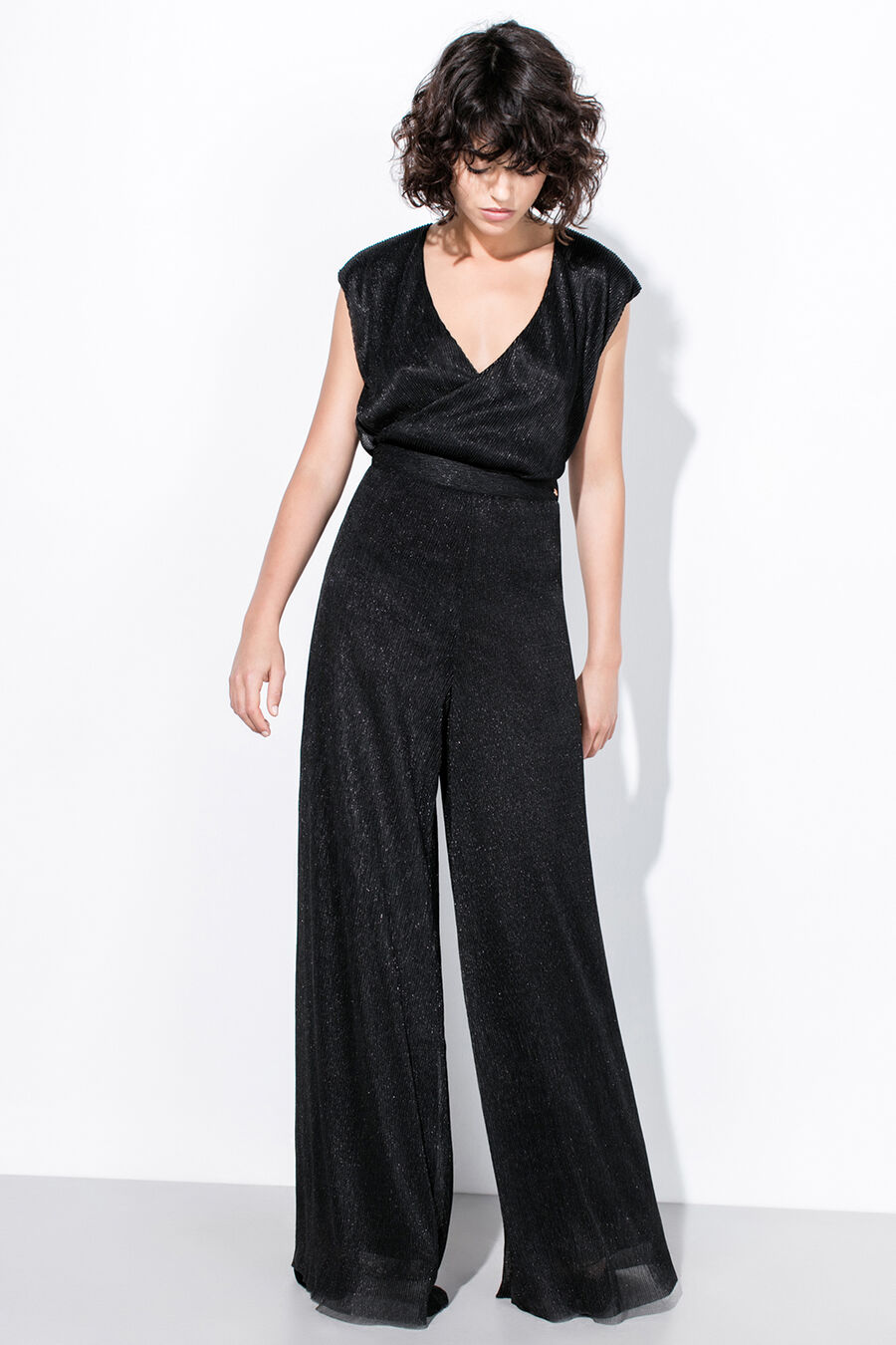 Lurex trousers
