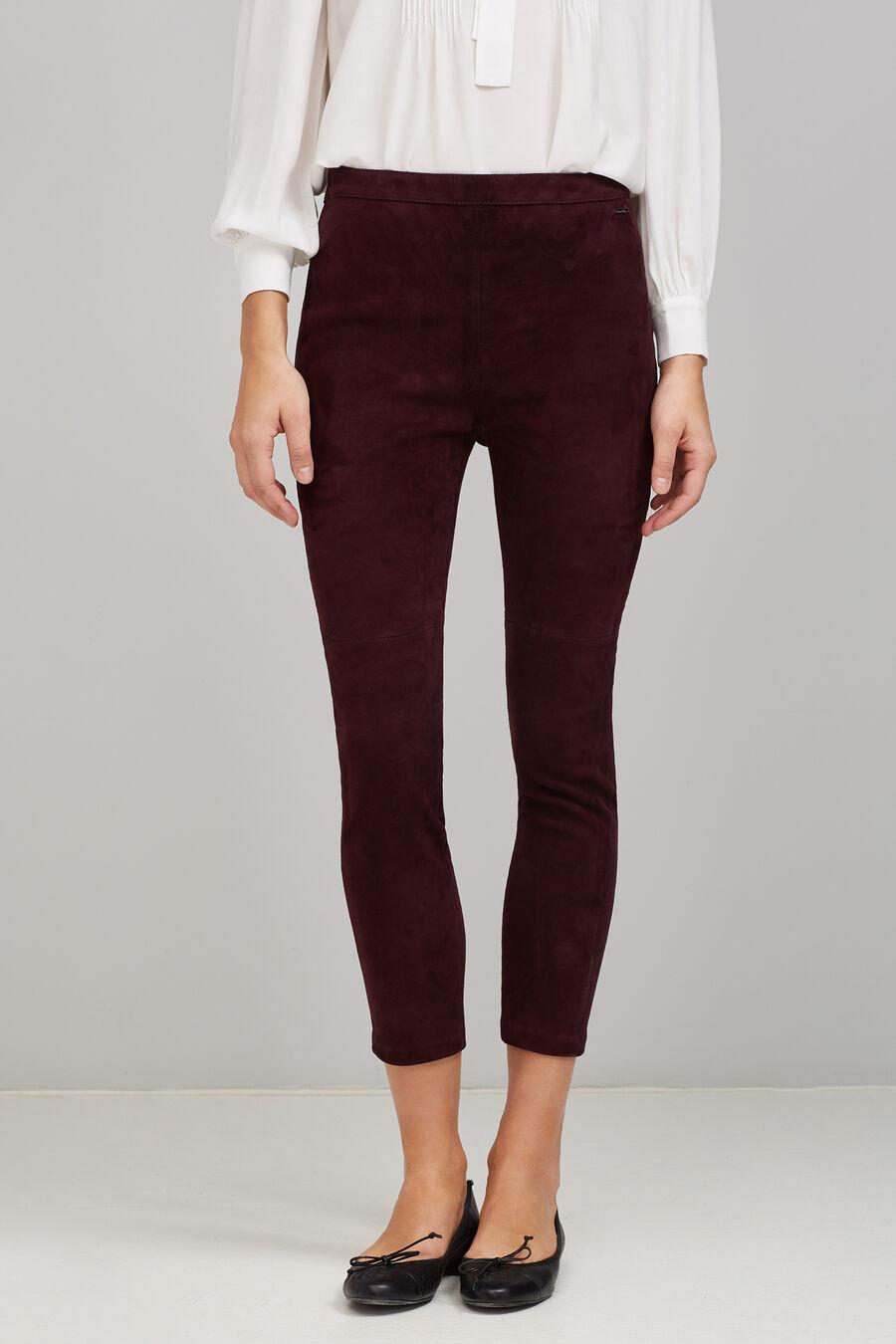 Velvet legging trousers