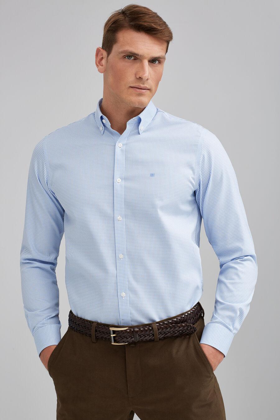 Vichy non-iron shirt