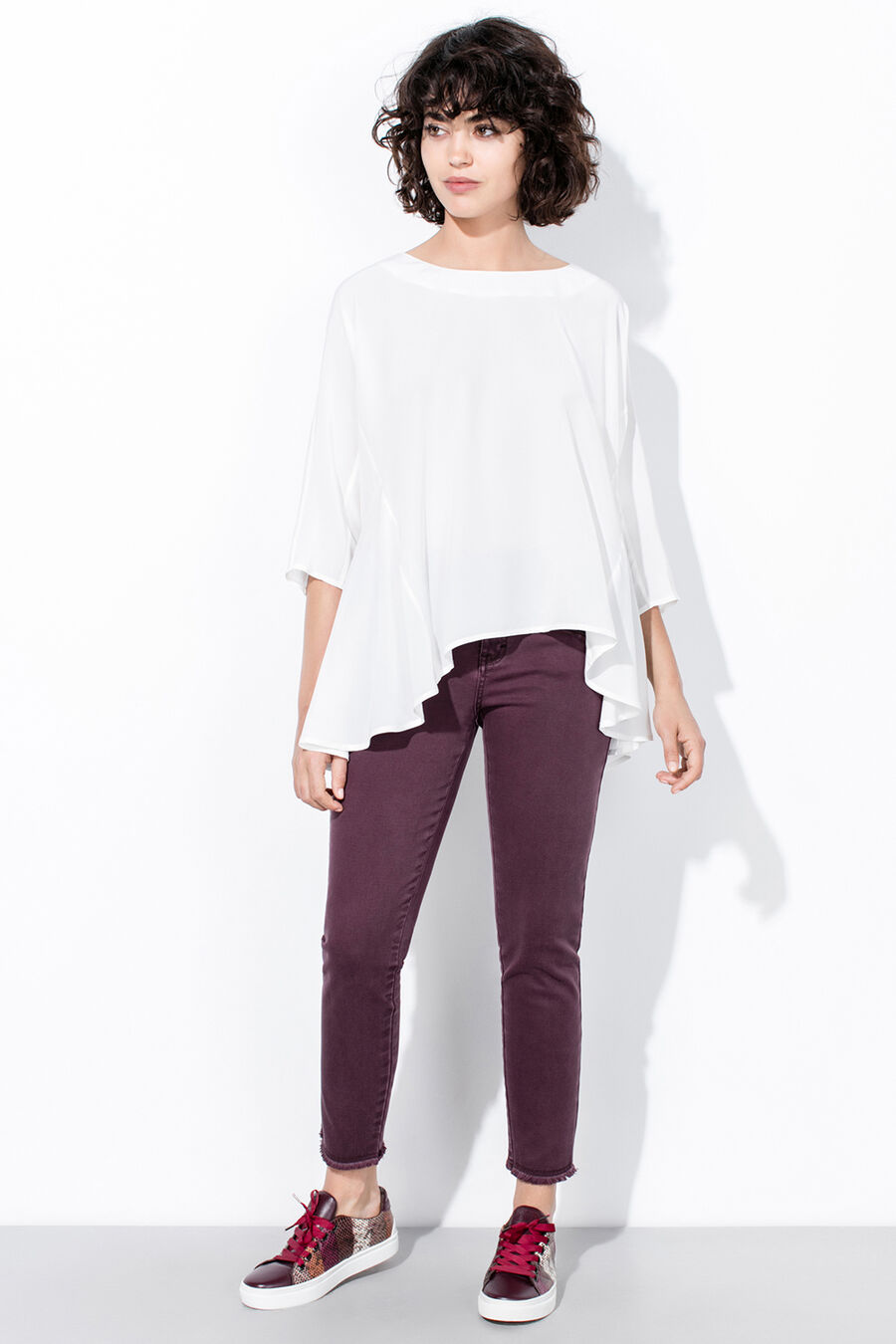 Cuts blouse
