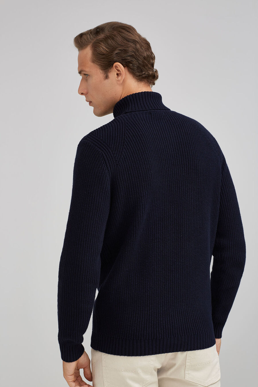 Fisherman's rib jumper