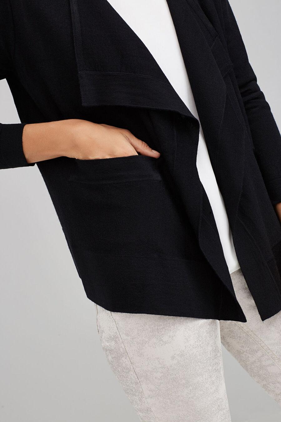 Short wrap cardigan