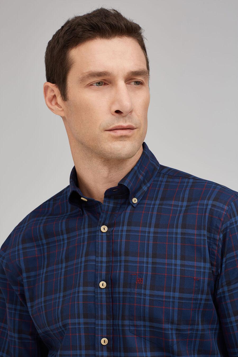 Tartan checked shirt