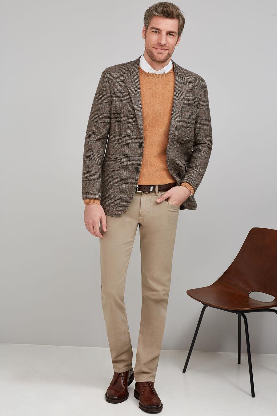 Tailored fit wool blazer