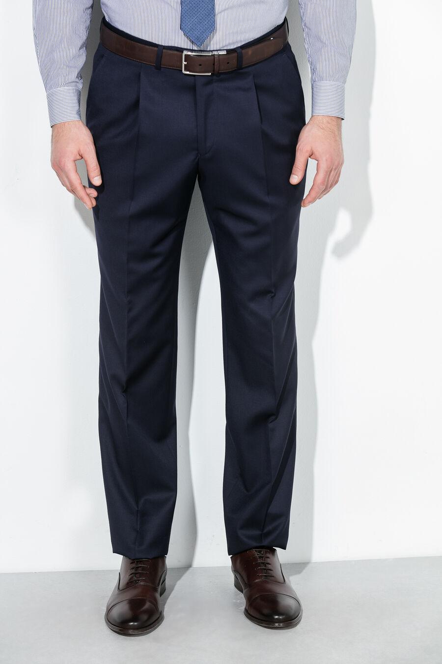 Plain classic suit