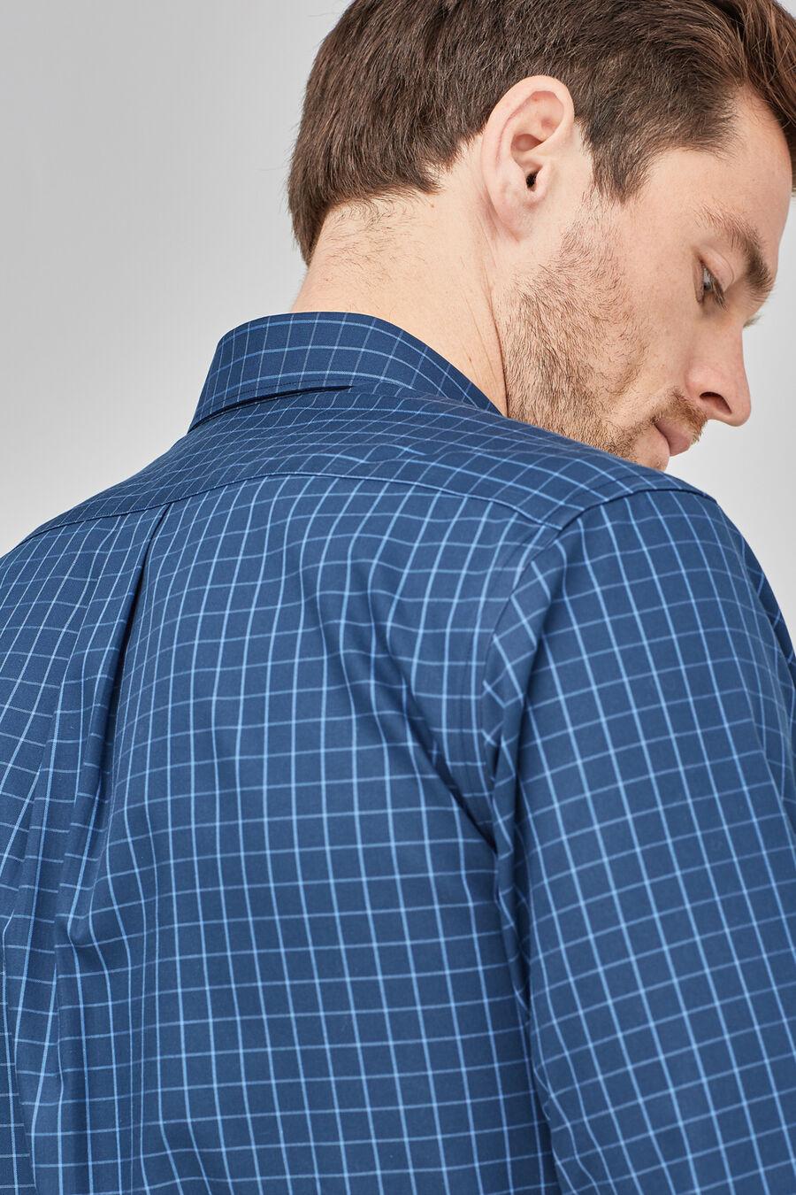 Non-iron check shirt