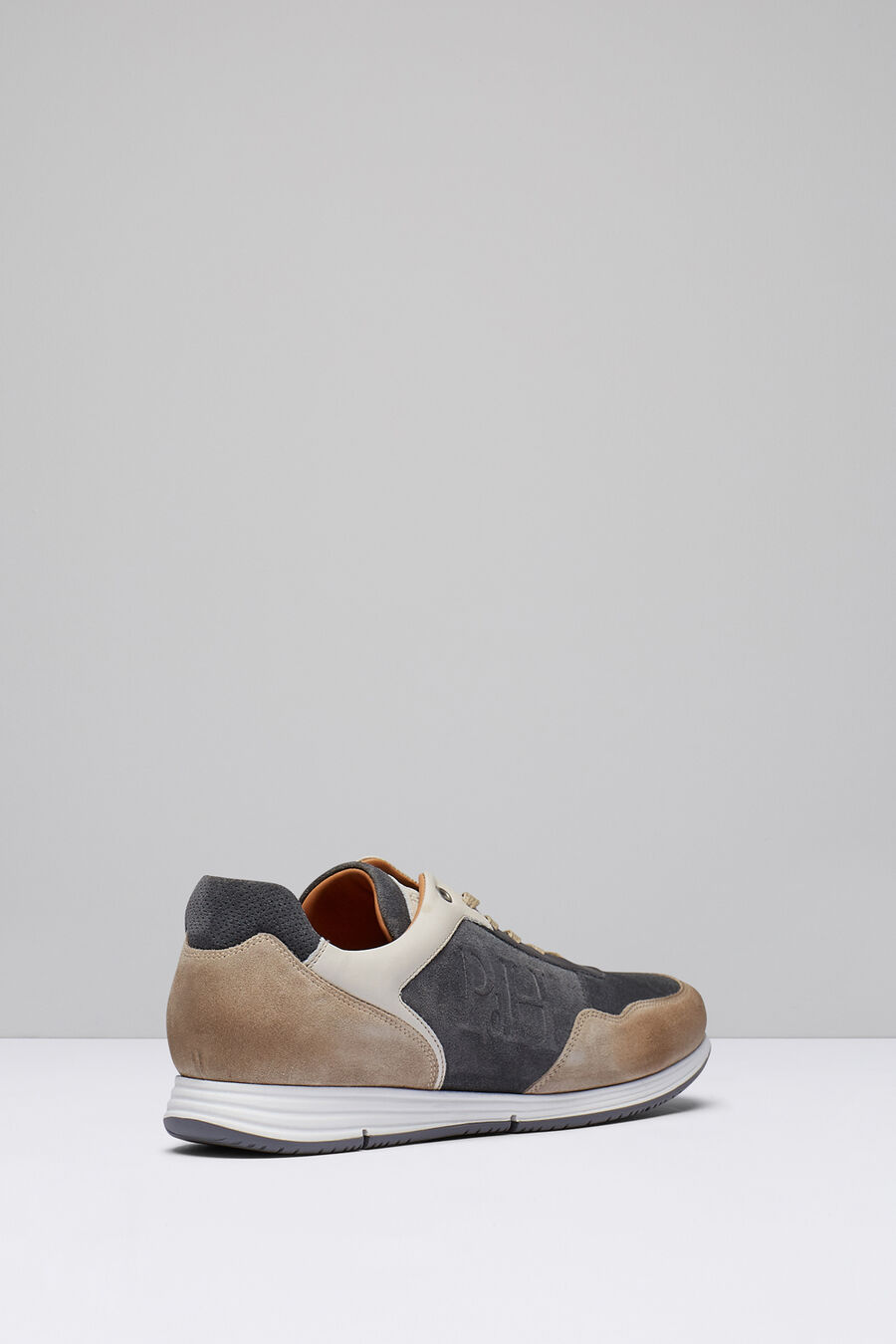 Icon split leather sneaker
