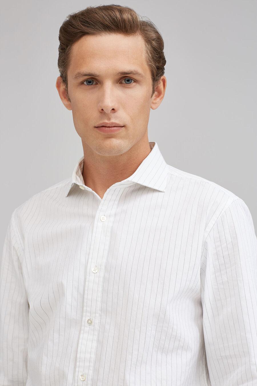 Slim striped shirt