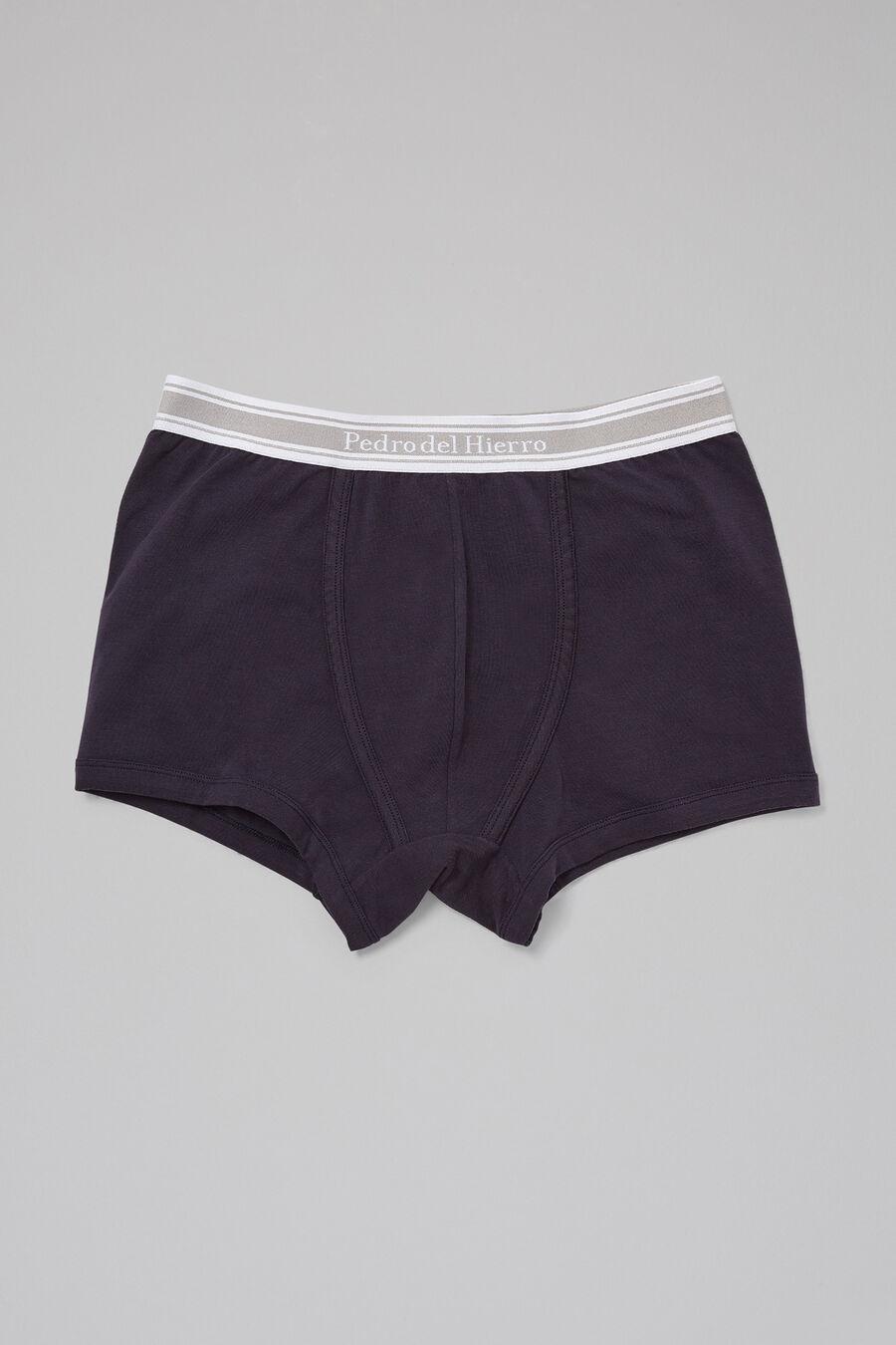 Plain cotton boxers