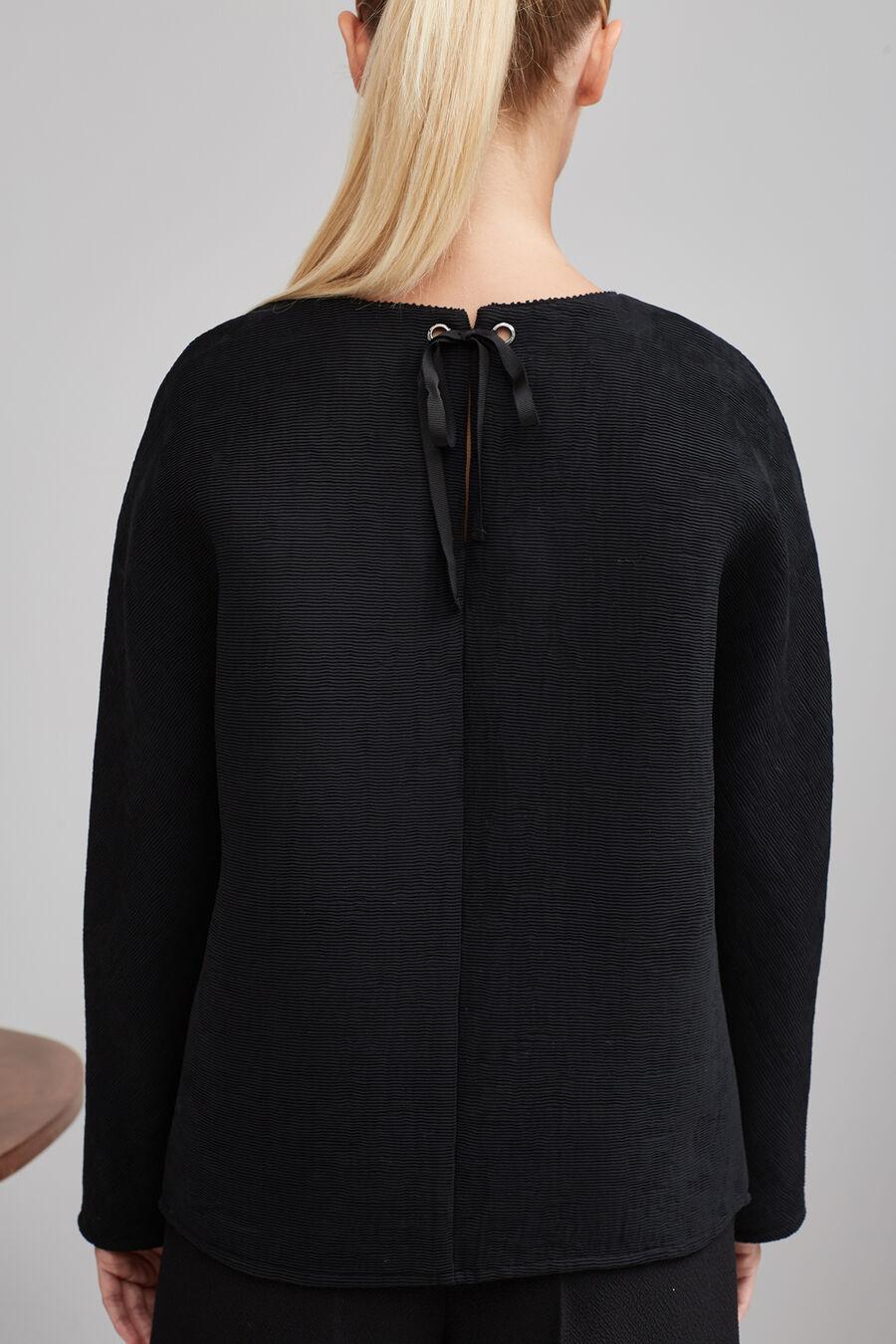 Black Ottoman top