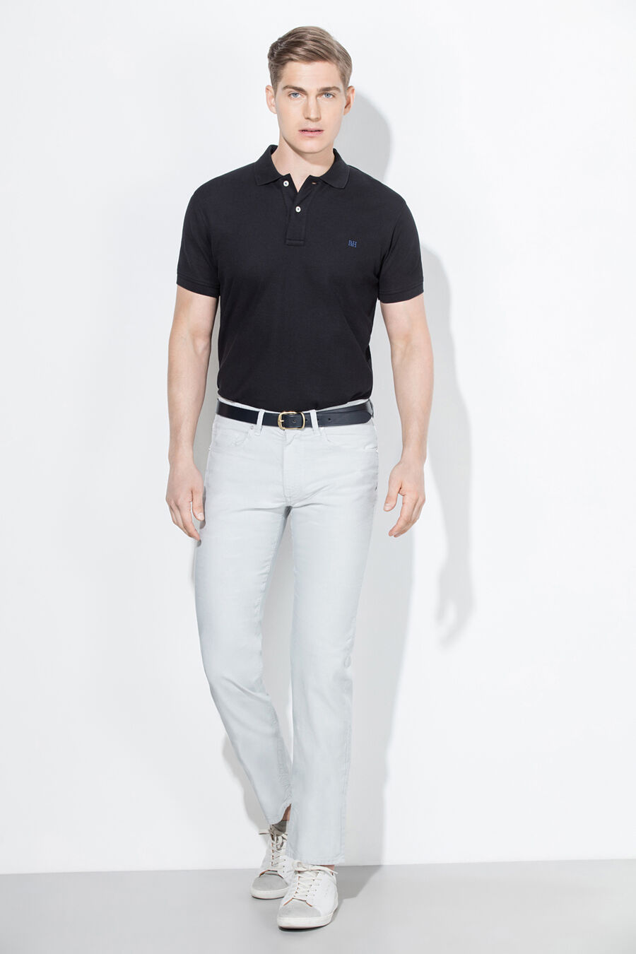 Basic logoed polo