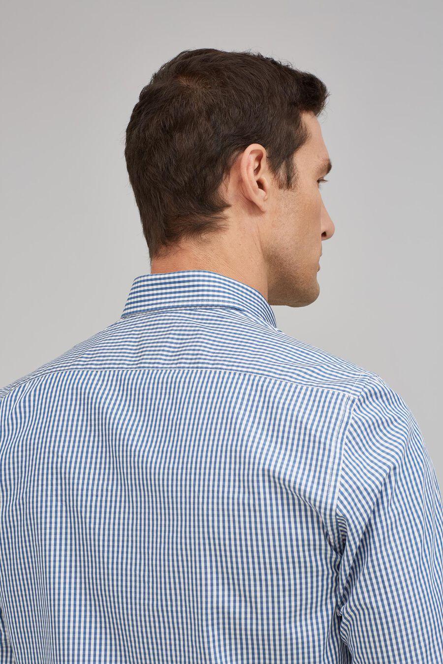 Melange checked shirt