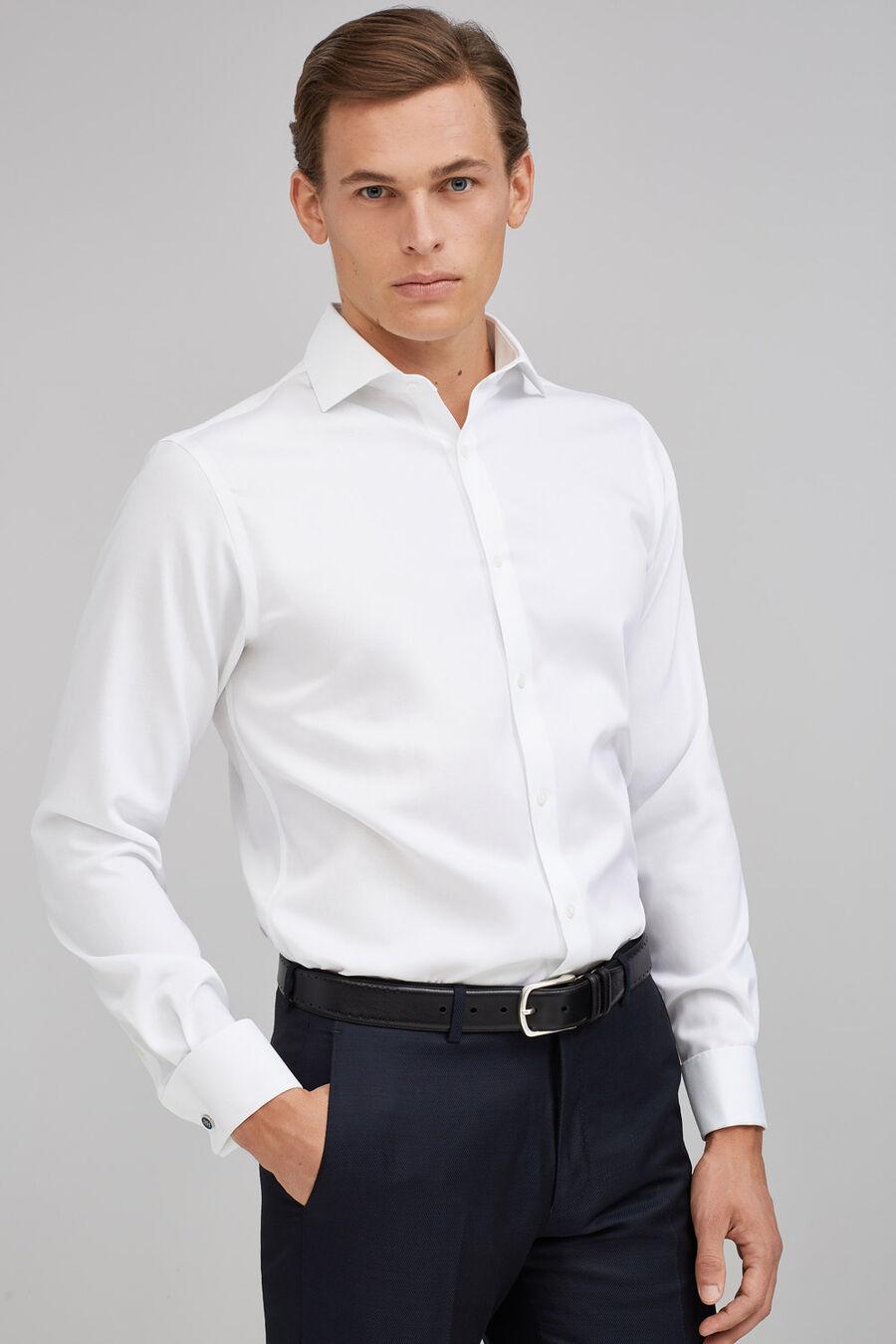 Non-iron plain shirt