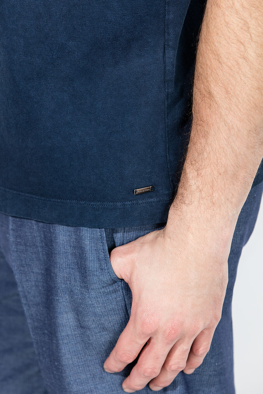 PdH indigo polo shirt