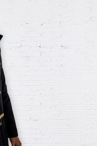 HOODED COATED COTTON PARKA