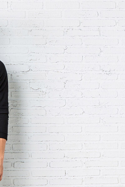 Jersey cuello chimenea básico