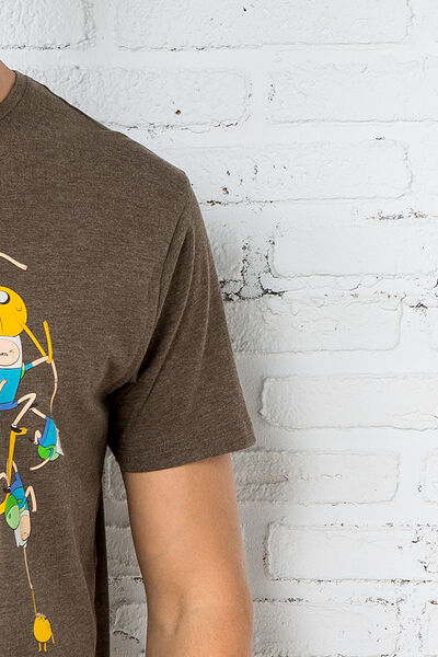 ADVENTURE TIME' PRINTED T-SHIRT