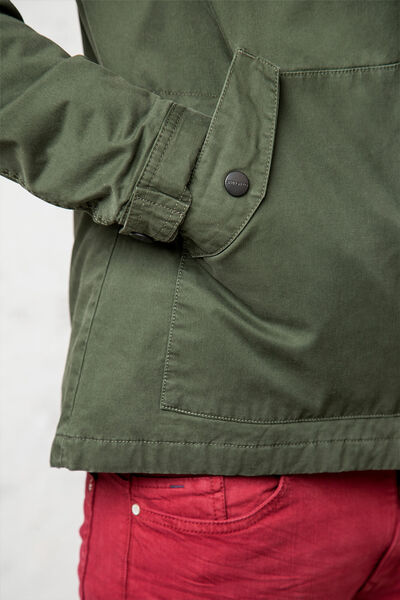 HOODED SHORT COTTON PARKA