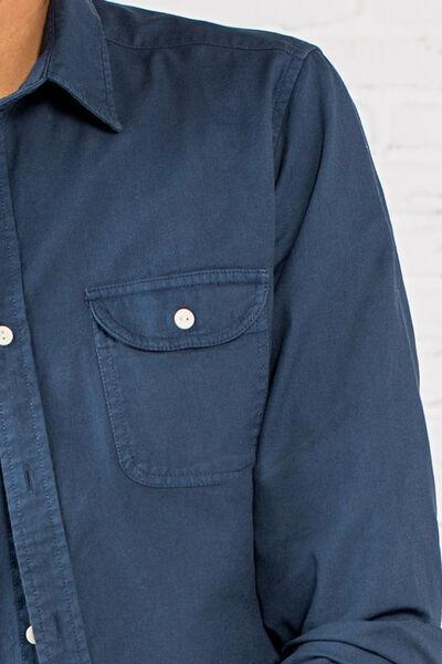 twill cotton shirt