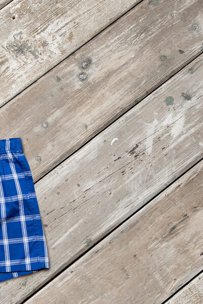 PACK OF 3 BLUE BOXER SHORTS