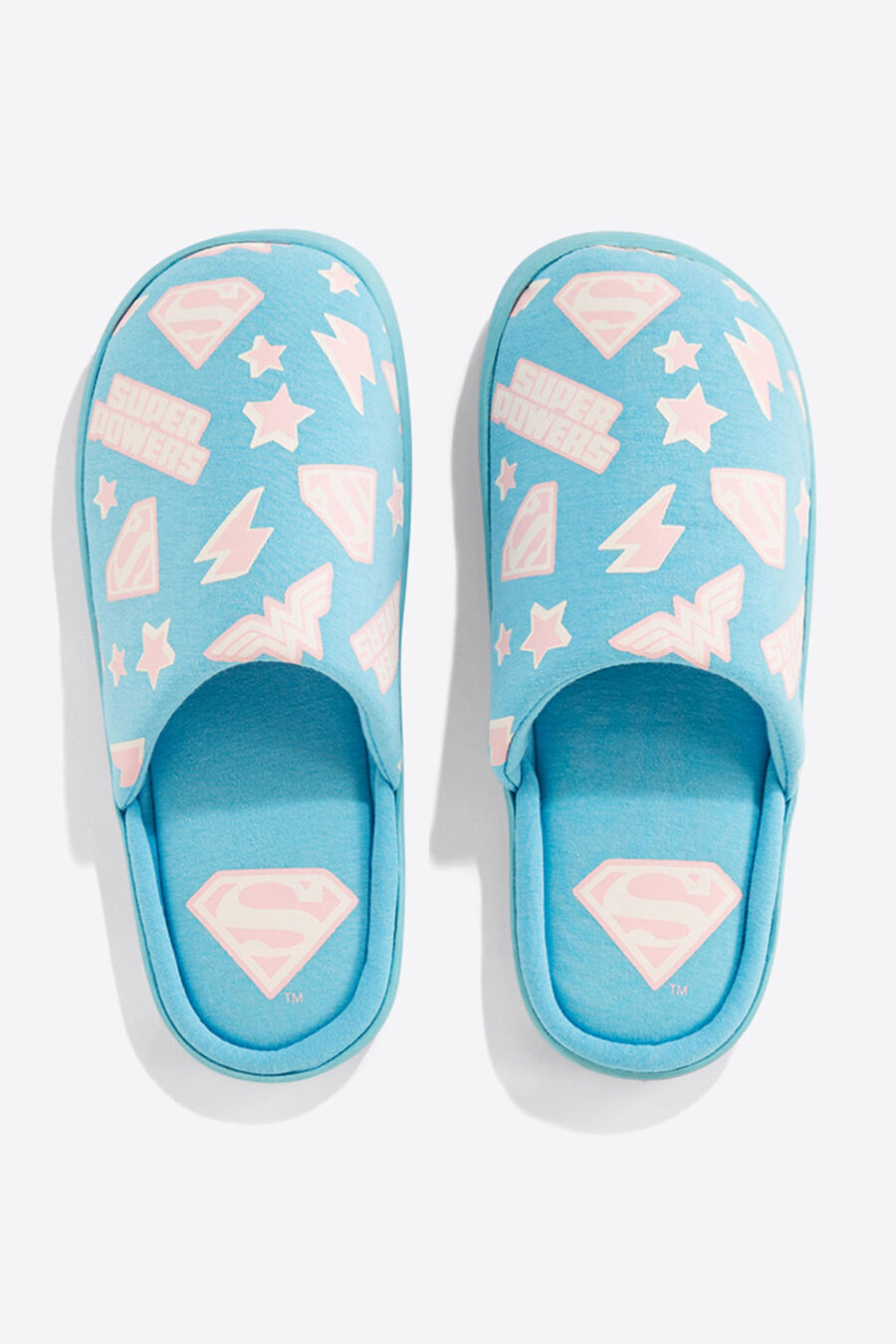 'Supergirl' slippers