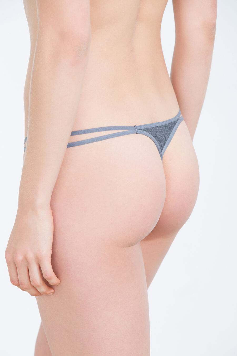 Pack of 7 plain thongs
