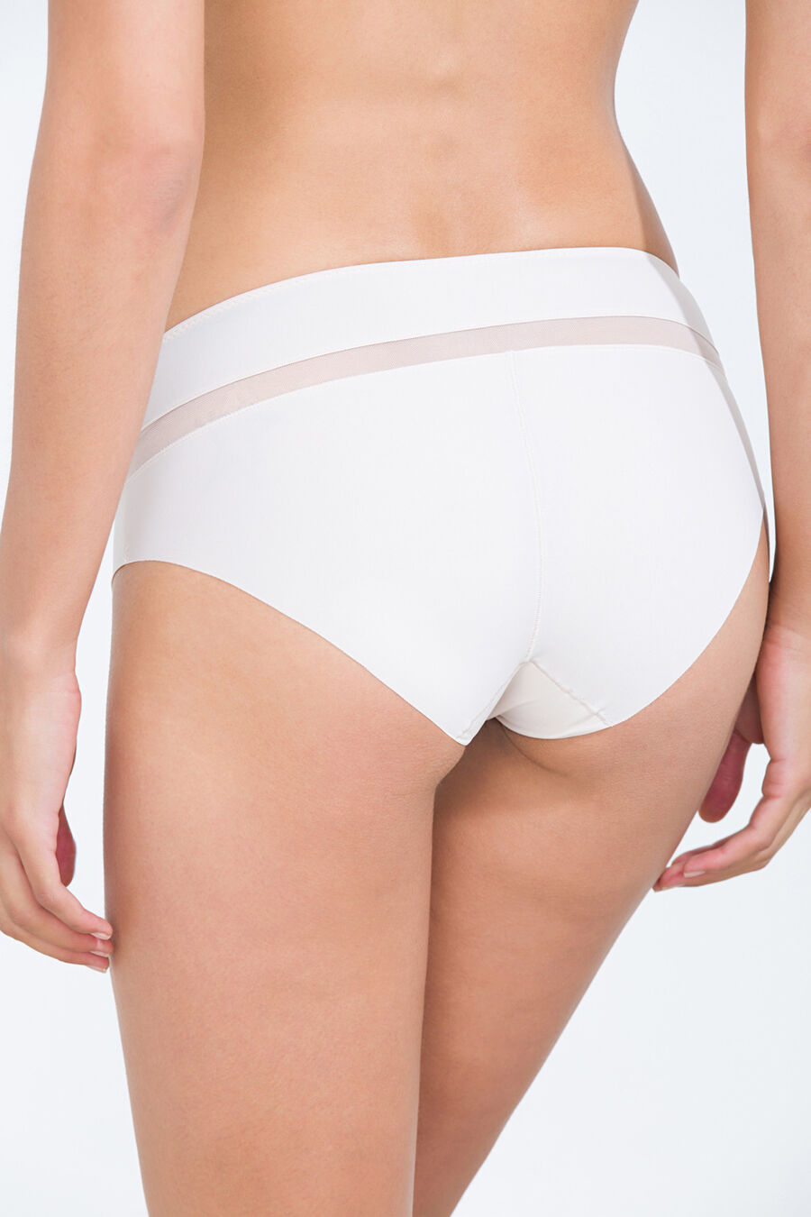 High-waist shape culotte