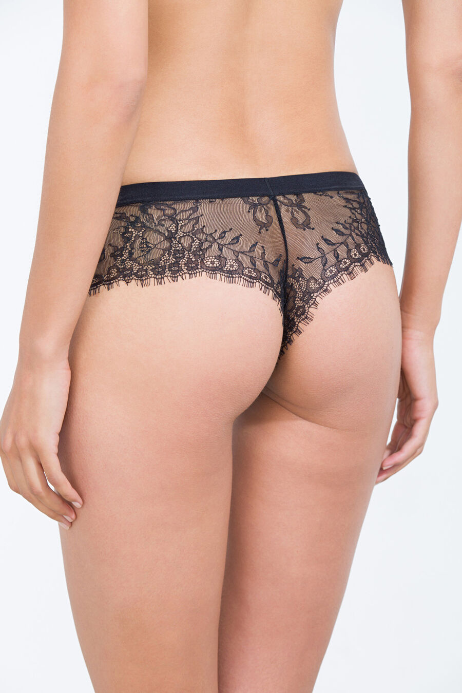 Lace Brazilian hipster briefs