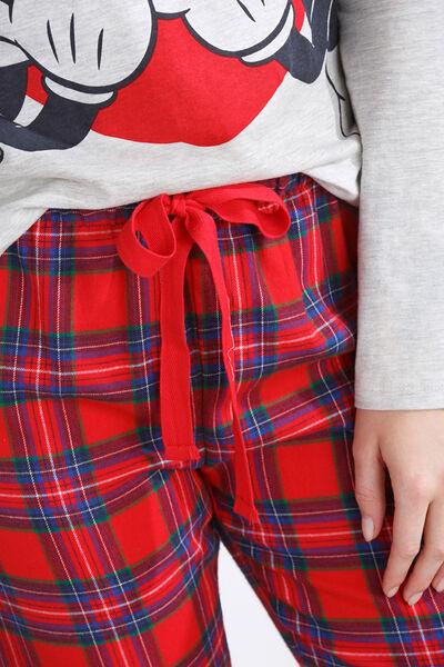 Long Mickey and Minnie graphic pyjama