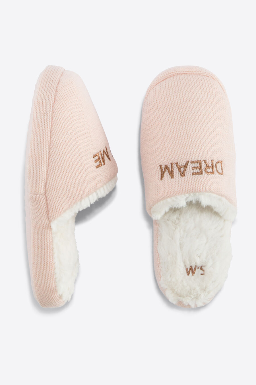 Dreamer' tricot slippers