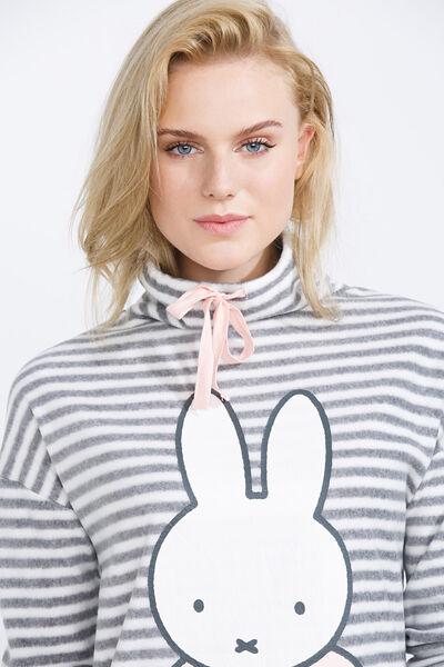 Striped thermal Miffy nightshirt