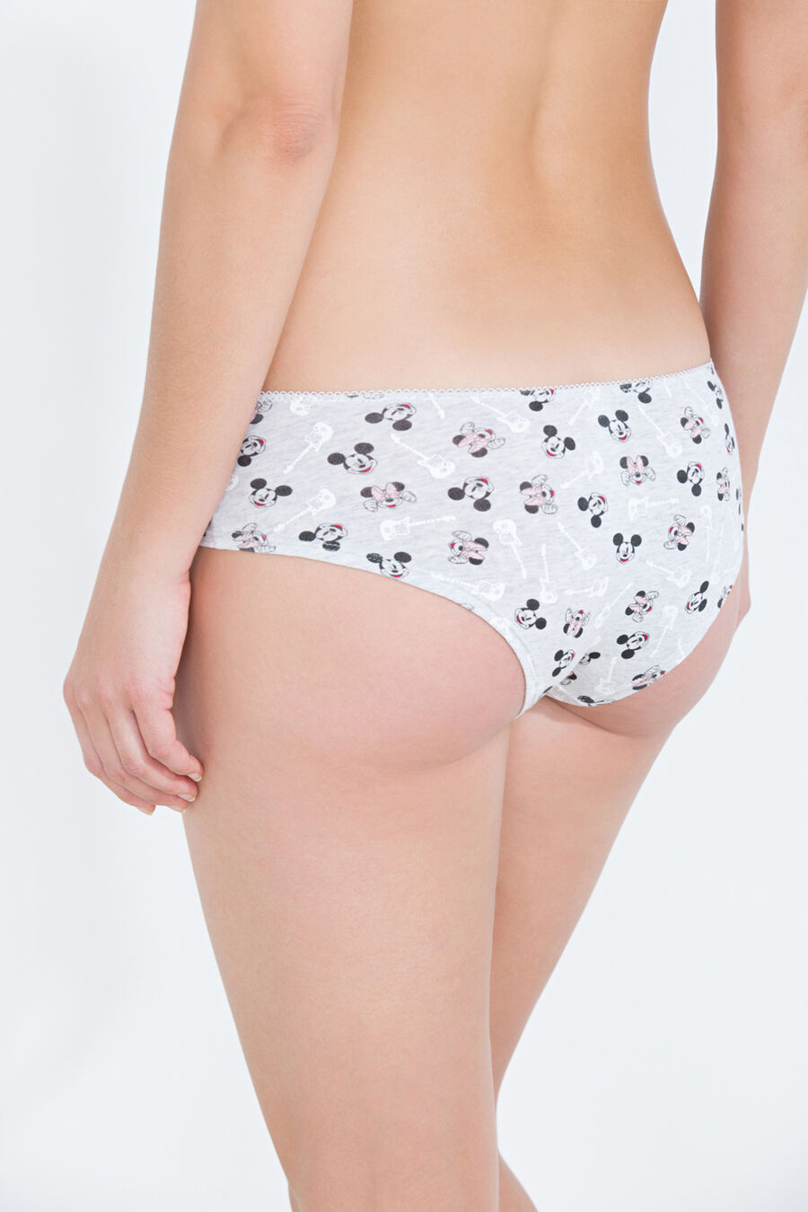 Mickey and Minnie Mouse hipster brief
